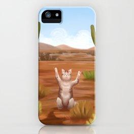 Catcus iPhone Case