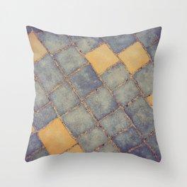 SIDEWALK A02 Throw Pillow