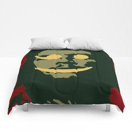 Che Emoticomunist Emoji Pop Art Protest Comforters