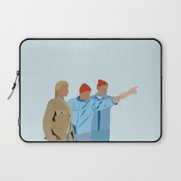 The Life Aquatic with Steve Zissou: Minimalist Poster Laptop Sleeve