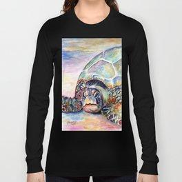Turtle at Poipu Beach Long Sleeve T-shirt