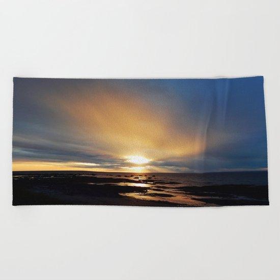 The Light under the Storm Beach Towel