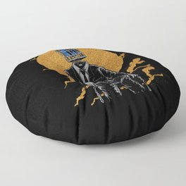 World Cage Floor Pillow