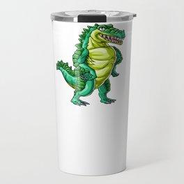 Crocodile Dad Alligator Reptile Animal Travel Mug