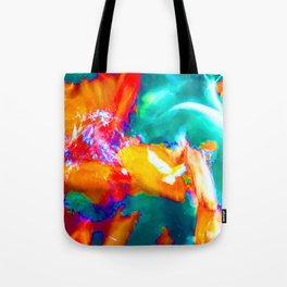 Trippy Fish Tote Bag