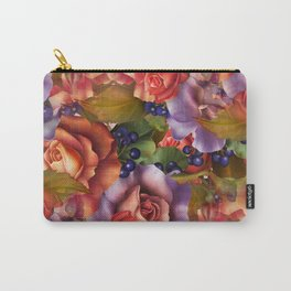 Septembe Roses Carry-All Pouch