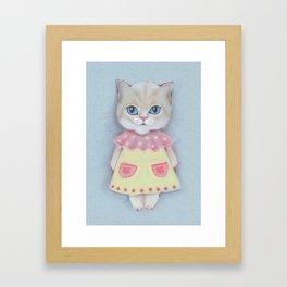 Catika. Framed Art Print