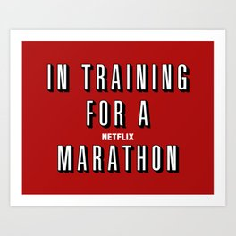 In Training Art Print