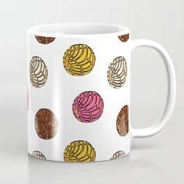 Pan Dulce (white bg) Coffee Mug