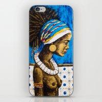 cuba iPhone & iPod Skins featuring CUBA  by Olga Krokhicheva