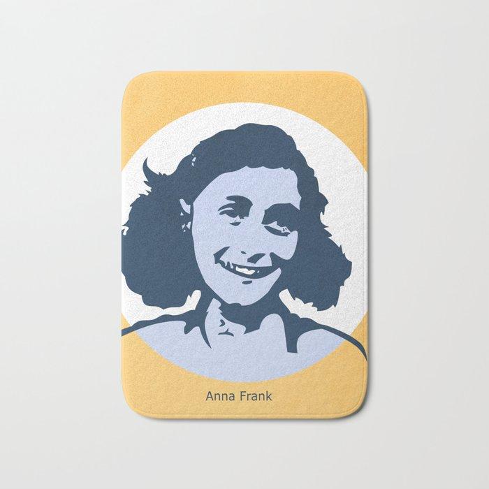 Anne Frank Bath Mat
