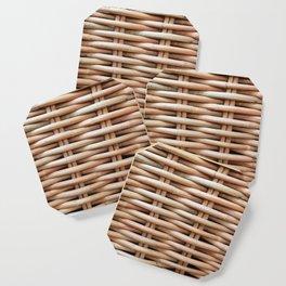Rustic basket Coaster