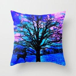 TREE ENCOUNTER Throw Pillow