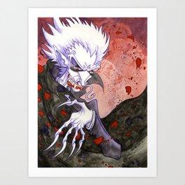 Dracula Bad Romance Art Print