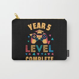 Year 5 Level Complete School Gaming Kids Gift Carry-All Pouch