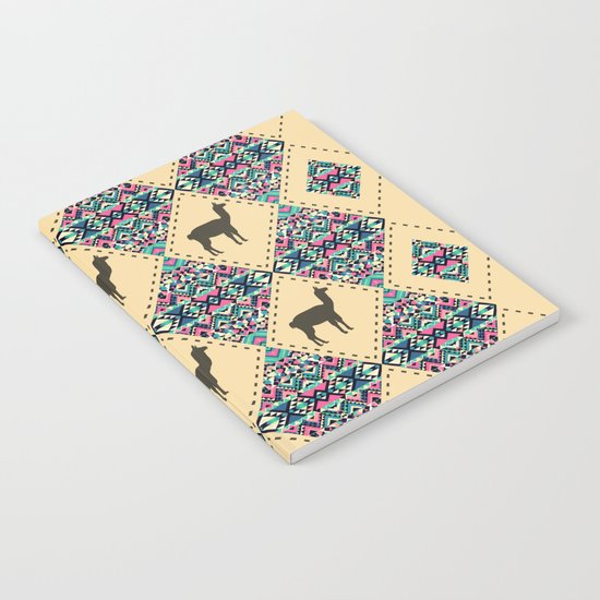 Andes pattern Notebook