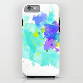 Aria-Watercolor Abstract series V.2 iPhone Case