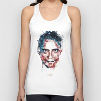 obama Tank Tops featuring Obama by I AM DIMITRI