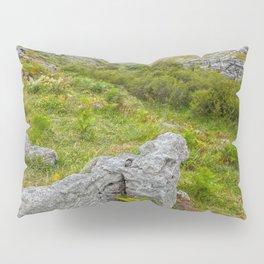 Cloudy Poulnabrone Landscape Pillow Sham