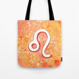 Zodiac sign : Leo Tote Bag