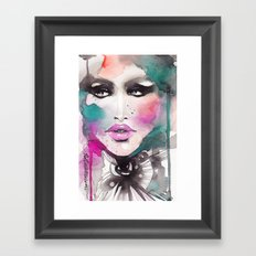 Love Color Framed Art Print