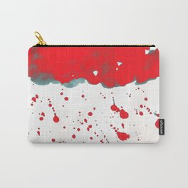 Red Red Clouds Carry-All Pouch