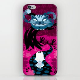Cheshire smile iPhone Skin