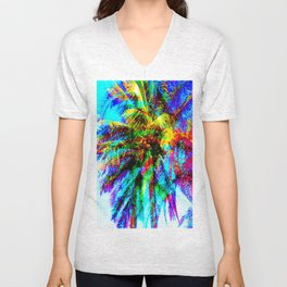 Palm Tree  Unisex V-Neck