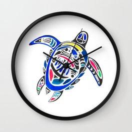 Declan The Sea Turtle Wall Clock