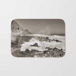 The force of the sea. BN Bath Mat