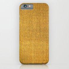 Burlap texture look iPhone 6s Slim Case