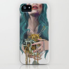 Support Living Artists the Dead Ones Don't Need it iPhone Case
