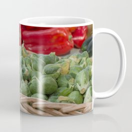 Brussel Sprouts and other Fresh Veggies Coffee Mug