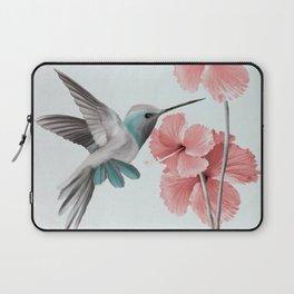 Hummingbird with Hibiscus Laptop Sleeve