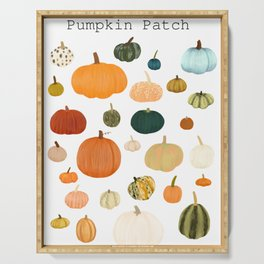 Pumpkin Patch Season Serving Tray