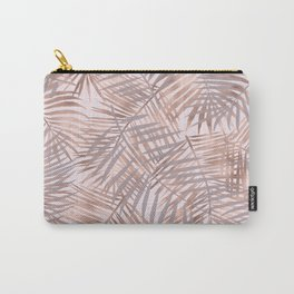 Shady rose gold palms Carry-All Pouch
