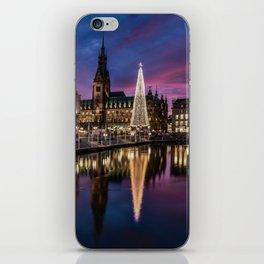 Hamburg Christmas Market iPhone Skin