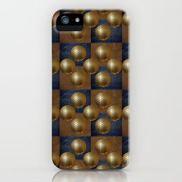 GOLDEN GOLFBALLS iPhone Case
