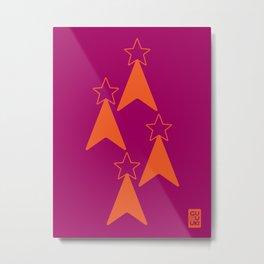 StarTree Metal Print
