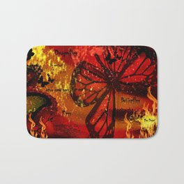 Butterflies Are Back Bath Mat