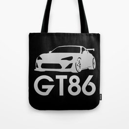 Toyota GT86 - silver - Tote Bag