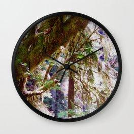 Spirit Forest Wall Clock