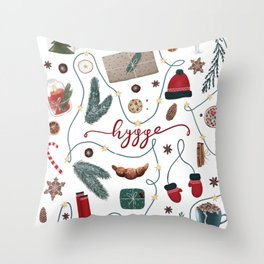 Hygge Christmas Collection Throw Pillow