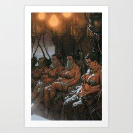 AUSONIA for Mad Max Fury Draw Art Print