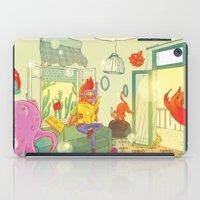 underwater iPad Cases featuring underwater by lena brunshtein