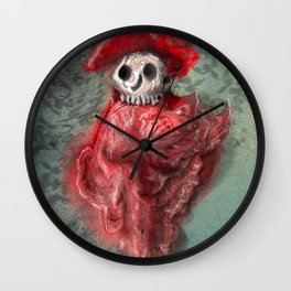 Thus does the Red Death rebuke your merriment! Wall Clock