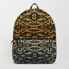 Floral Wrought Iron G267 Backpack