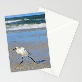 Beach stroll Stationery Cards