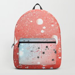 Textural Coral Background Backpack