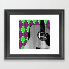 Acoustic #2 Framed Art Print